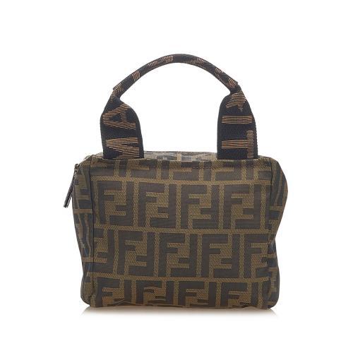 Fendi Zucca Nylon Handbag
