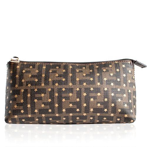 Fendi Zucca Stars Cosmetic Bag