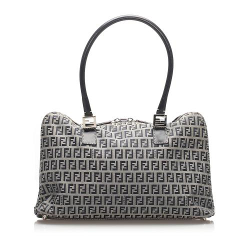 Fendi Zucchino Canvas Handbag