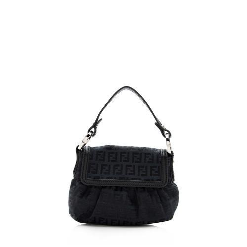 Fendi Zucchino Chef Mini Shoulder Bag