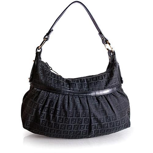 Fendi Zucchino Chef Shoulder Handbag