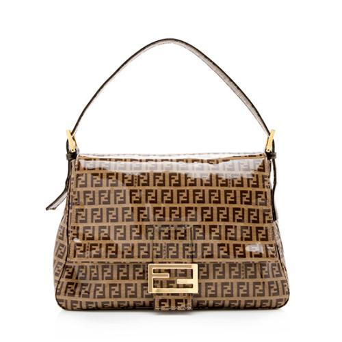 Fendi Zucchino Forever Mamma Shoulder Bag