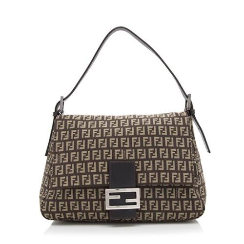Fendi Zucchino Forever Mamma Shoulder Bag