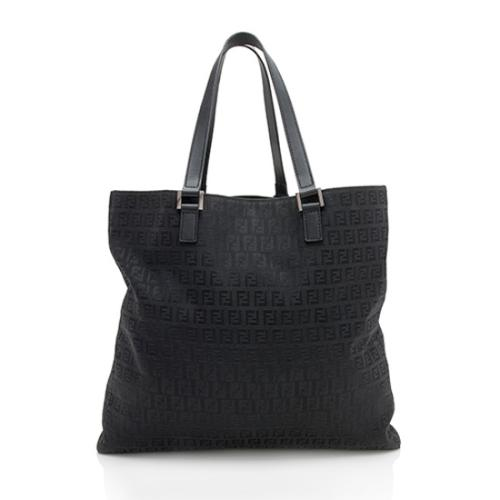 Fendi Zucchino Large Shopping Tote