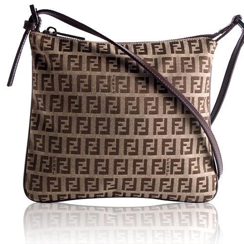 Fendi Zucchino Messenger Handbag
