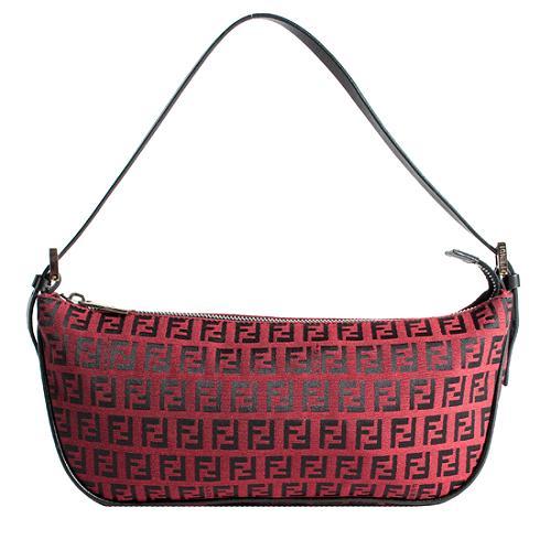 Fendi Zucchino Shoulder Handbag