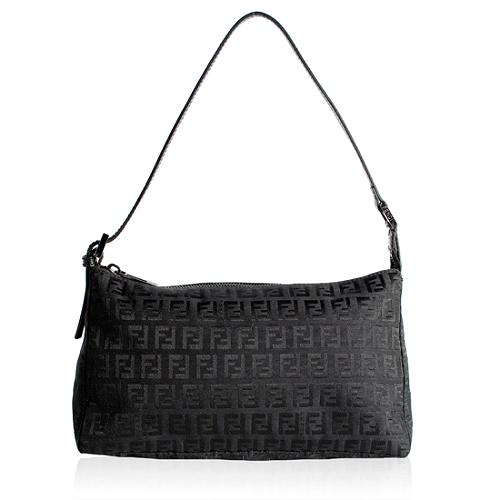 Fendi Zucchino Small Shoulder Handbag