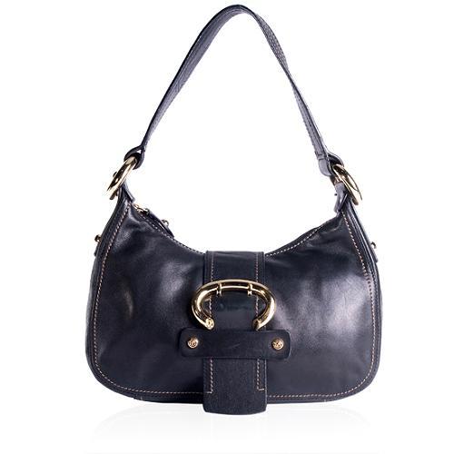 Francesco Biasia Leather Shoulder Handbag