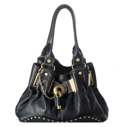 Francesco Biasia Ring of Fire Hobo Handbag