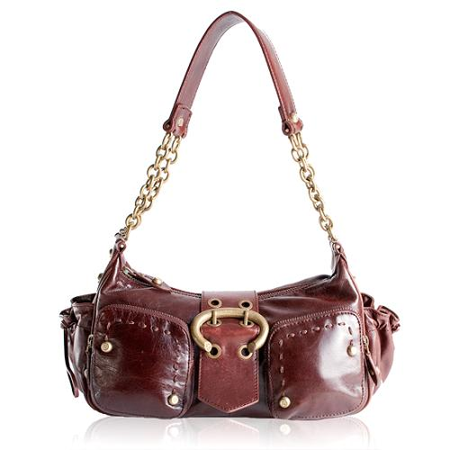 Francesco Biasia Tribal Pocket Shoulder Handbag
