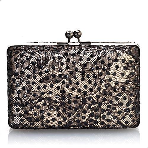Franchi Joan Lace Evening Handbag