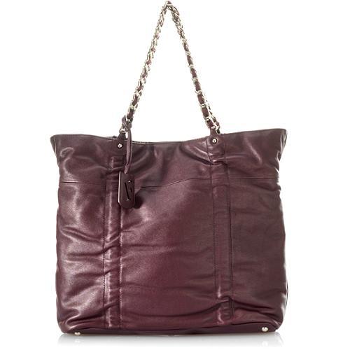 Furla Chain Detail Large Shopper Handbag