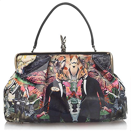 Furla Leit Motiv Doctor Rabbit Satchel Handbag