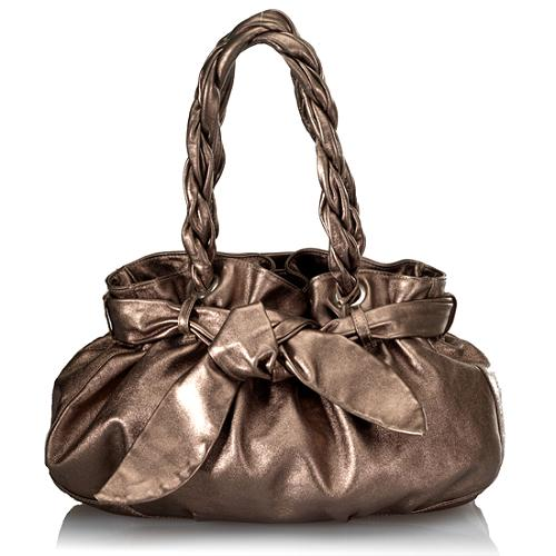 Furla Miriam Soft Leather Satchel Handbag