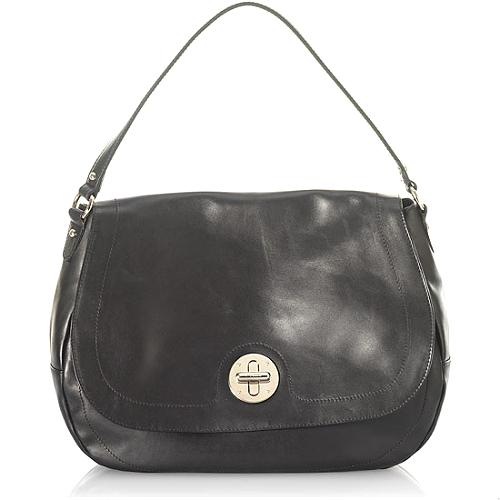 Furla Tracolla Turnlock Shoulder Handbag