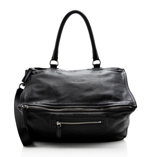 Givenchy Calfskin Pandora Large Shoulder Bag