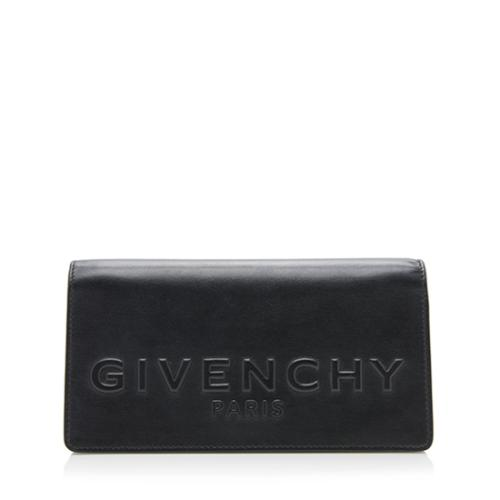 Givenchy Embossed Goatskin Clutch