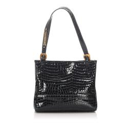 Givenchy Embossed Patent Leather Tote