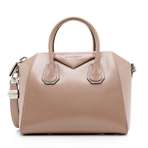 Givenchy Glazed Leather Antigona Small Satchel