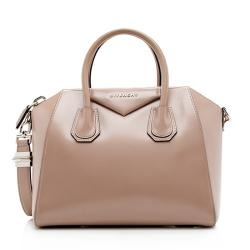 Givenchy Glazed Leather Antigona Small Satchel