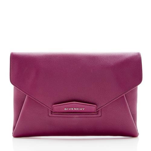 Givenchy Goatskin Antigona Envelope Medium Clutch