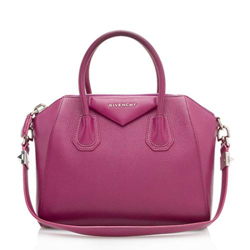 Givenchy Leather Antigona Small Satchel