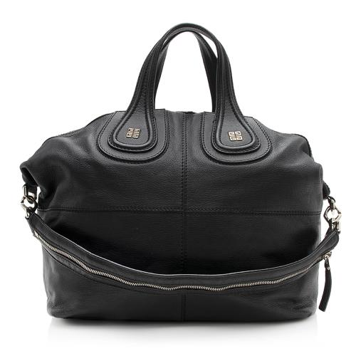 Givenchy Leather Nightingale Medium Satchel