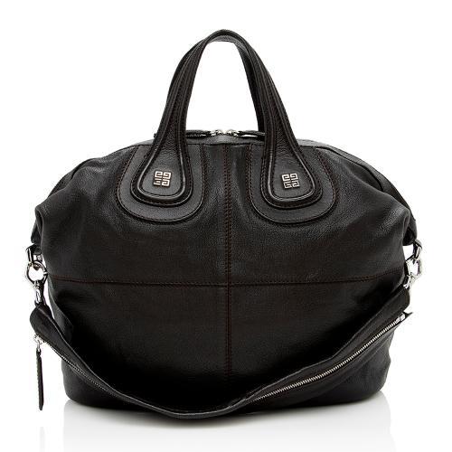 Givenchy Leather Nightingale Medium Satchel