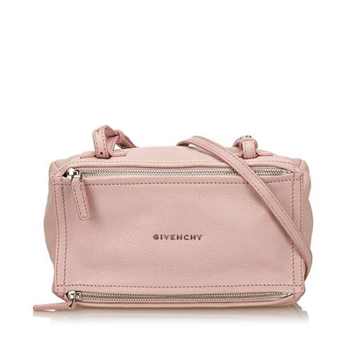 Givenchy Leather Pandora Mini Shoulder Bag