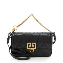 Givenchy Leather Pocket Mini Pouch