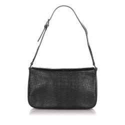 Givenchy Embossed Leather Shoulder Bag