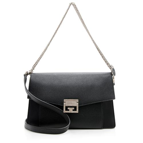 Givenchy Leather Suede GV3 Medium Shoulder Bag