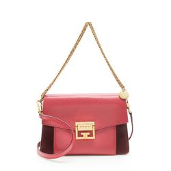 Givenchy Leather Suede GV3 Small Shoulder Bag