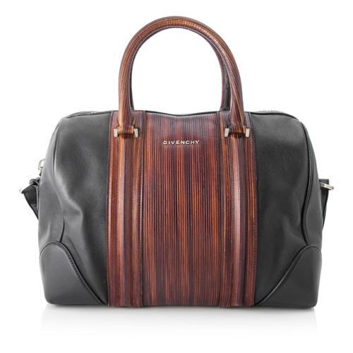 Givenchy Medium Lucrezia Leather Satchel
