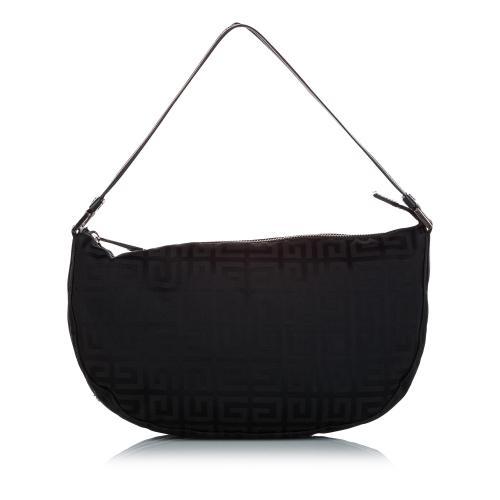 Givenchy Monogram Canvas Shoulder Bag