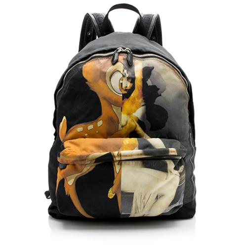 Givenchy Nylon Bambi Backpack