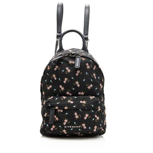 Givenchy Nylon Goatskin Nano Backpack