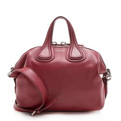 Givenchy Waxy Calfskin Nightingale Small Satchel