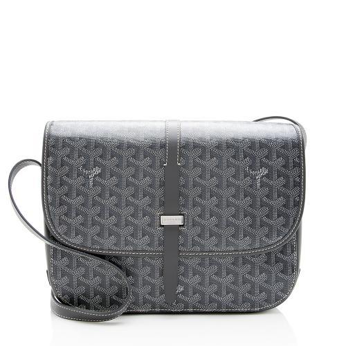 Goyard Goyardine Belvedere II MM Messenger Bag