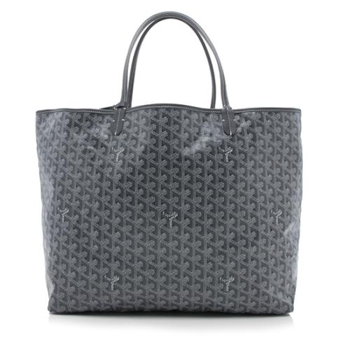 Goyard Goyardine Canvas St. Louis GM Tote