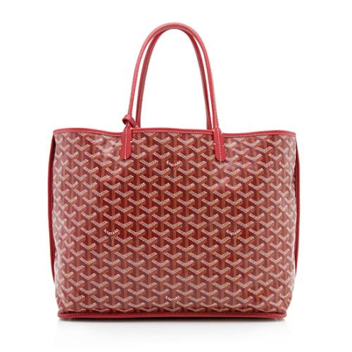 Goyard Goyardine Leather Anjou PM Reversible Tote