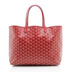 Goyard Goyardine Canvas St. Louis PM Tote
