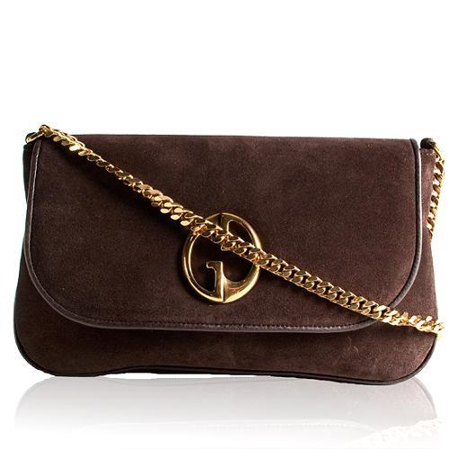 Gucci 1973 Double G Medium Shoulder Handbag