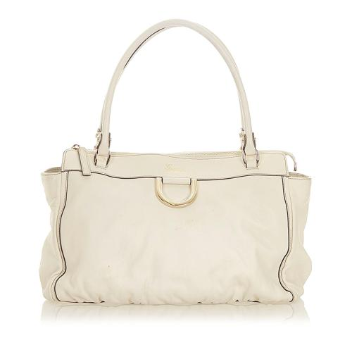 Gucci Abbey D-ring Leather Tote Bag