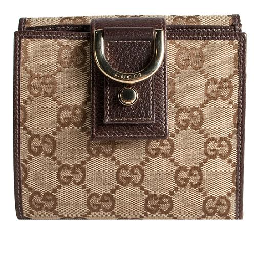 Gucci Abbey French Wallet