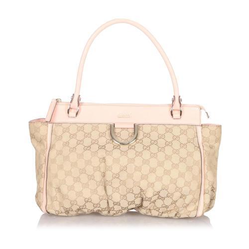 Gucci Abbey GG Canvas Shoulder Bag