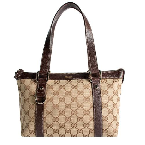 Gucci Abbey Small Top Handle Satchel Handbag