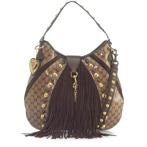 Gucci Babouska Large Shoulder Handbag