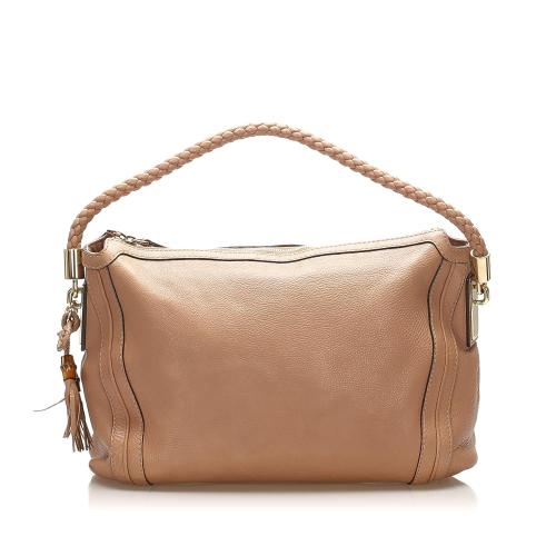 Gucci Bella Leather Tote Bag