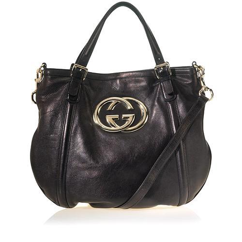 Gucci Britt Hobo Messenger Handbag